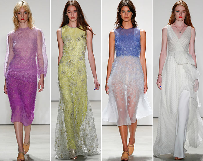 Jenny Packham Spring/Summer 2016 Collection