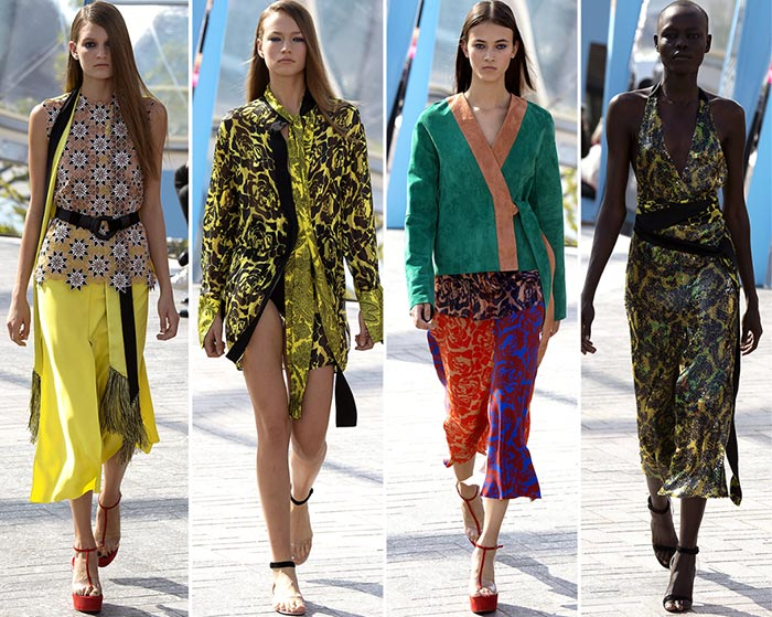 Jonathan Saunders Spring/Summer 2016 Collection