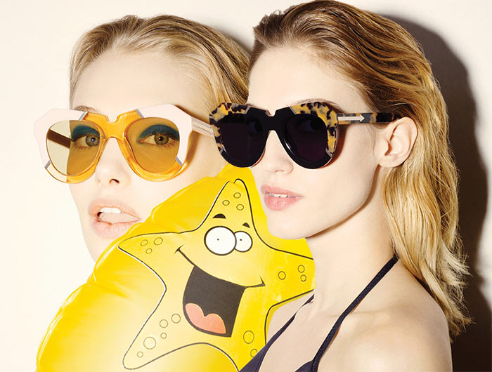 8e67bec9f6 Karen Walker Launches Colorful and Artistic Sunglasses