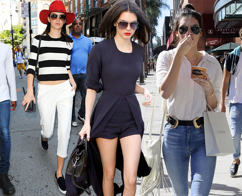 Kendall Jenner Casual Street Style Looks