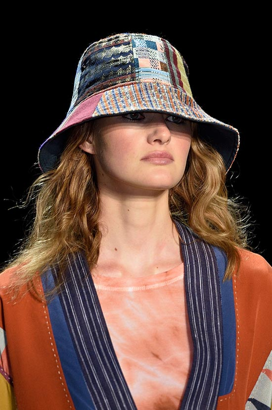 NYFW Spring 2016 Accessories: BCBG Bucket Hat