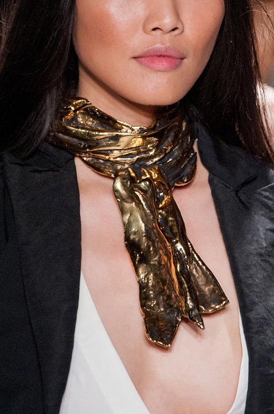 NYFW Spring 2016 Accessories: Greg Lauren Scarf