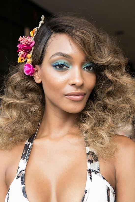 New York Fashion Week Spring 2016 Beauty: Curly Hair