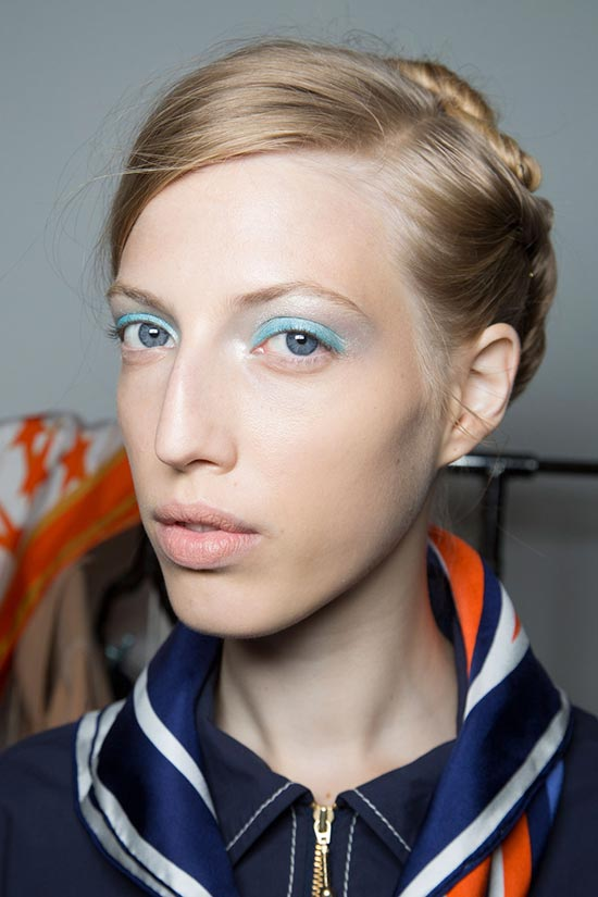 New York Fashion Week Spring 2016 Beauty: Colored Eyeliner