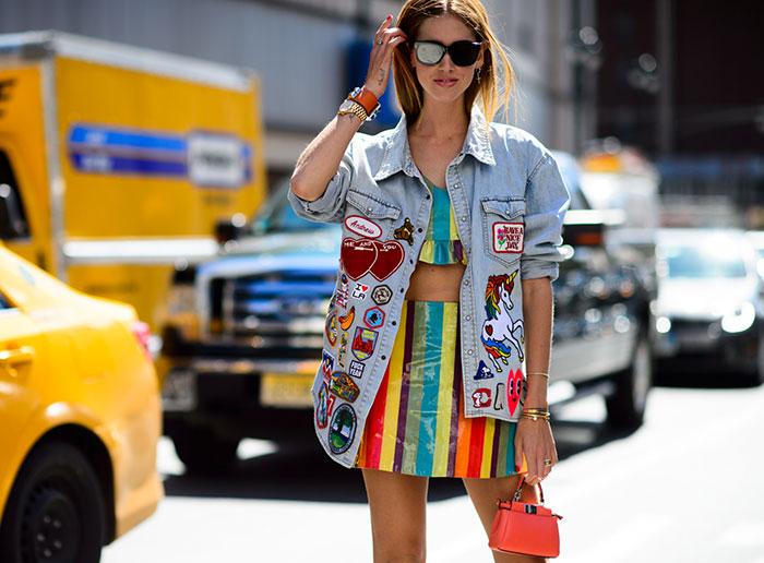 New York Fashion Week Spring 2016 Street Style