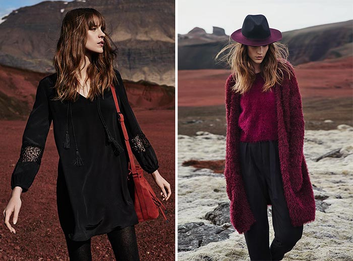 Nicole Pollard for RESERVED Fall 2015 Ad Campaign