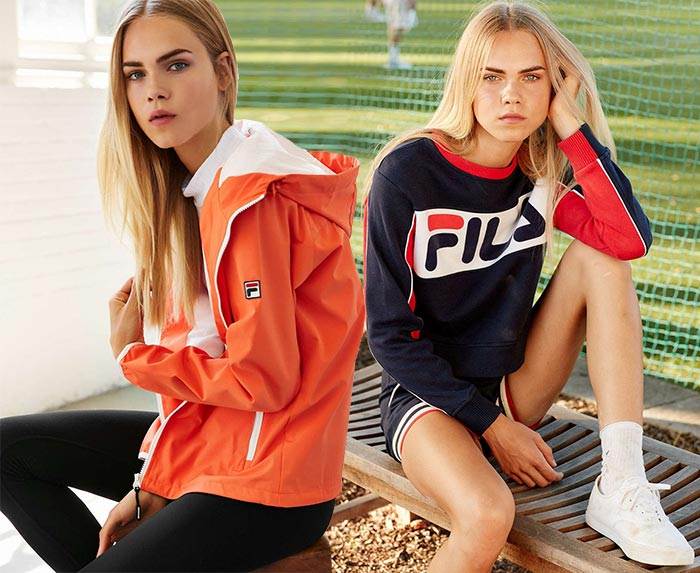 Urban Outfitters x Fila 2015 Collection
