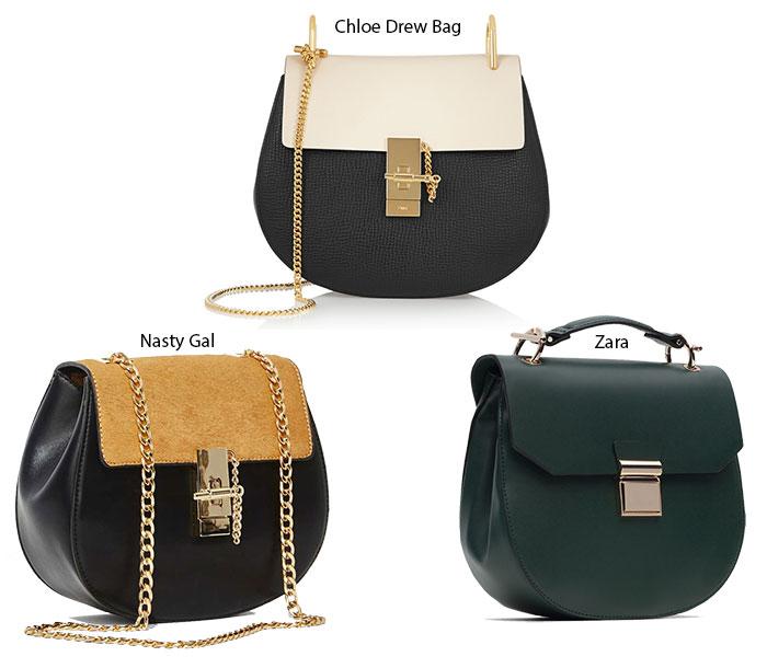 5 Trendy Designer Bags for Fall 2015: Chloe Drew Bag