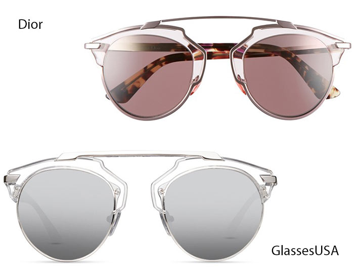 Trendiest Glasses With Their Alternate Affordable Options : Dior So Real