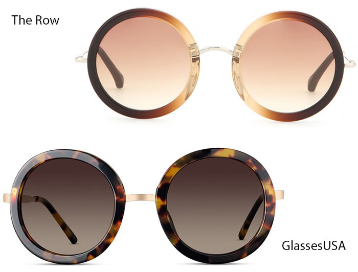 Trendiest Glasses With Their Alternate Affordable Options : The Row
