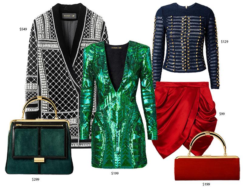 Balmain x H&M Collection Prices