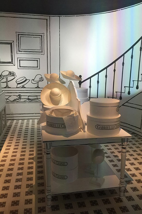 Chanel Mademoiselle Prive Exhibition In London