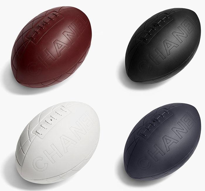 Chanel Designs Rugby Balls