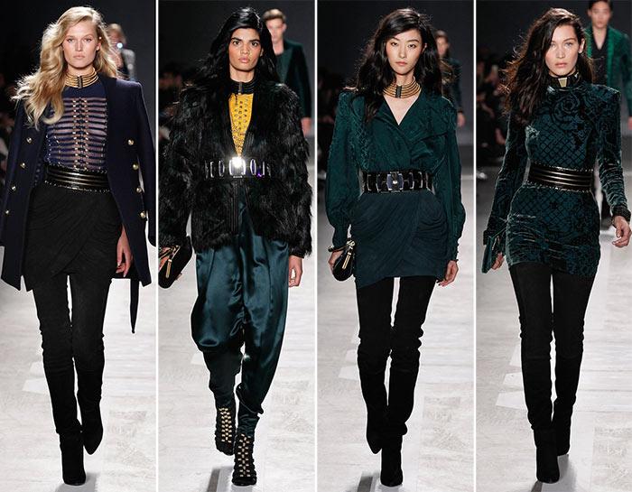 Balmain x H&M Fashion Show