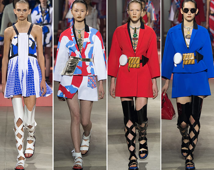 Kenzo Spring/Summer 2016 Collection