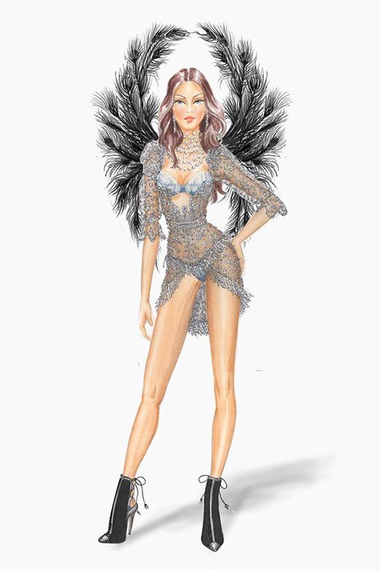 Victoria's Secret Fashion Show 2015 Costume