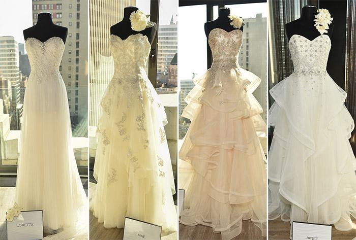 Badgley Mischka Fall 2016 Bridal Collection