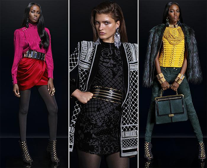 Balmain x H&M Fall 2015 Lookbook