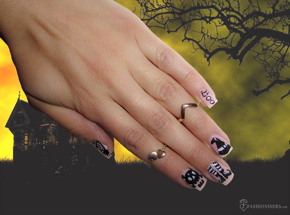 9 Spooky, Kooky Halloween Nail Art Designs