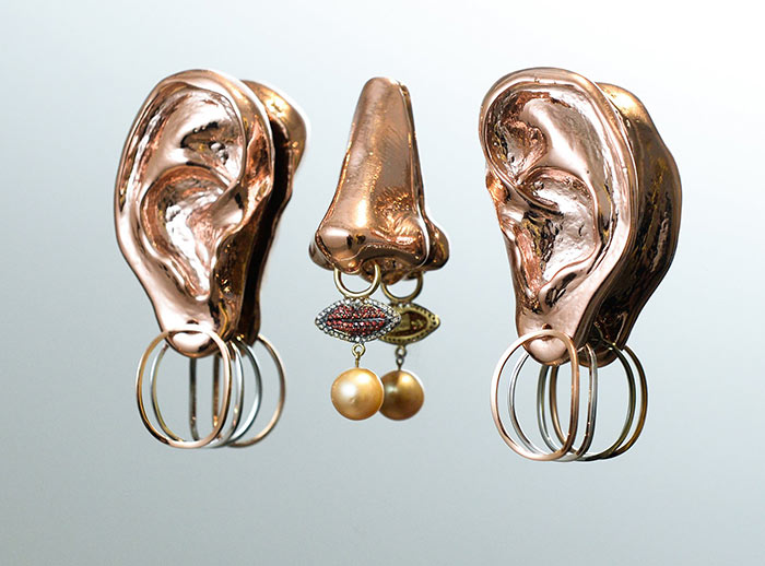 Delfina Delettrez Spring 2016 Jewelry Collection: Faceted