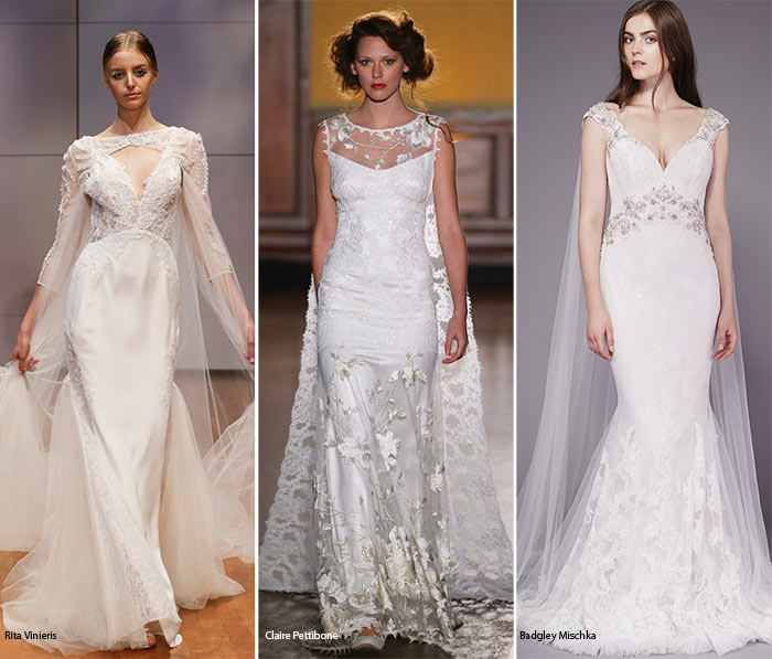 Fall 2016 Bridal Trends: Wedding Dresses With Body Veils