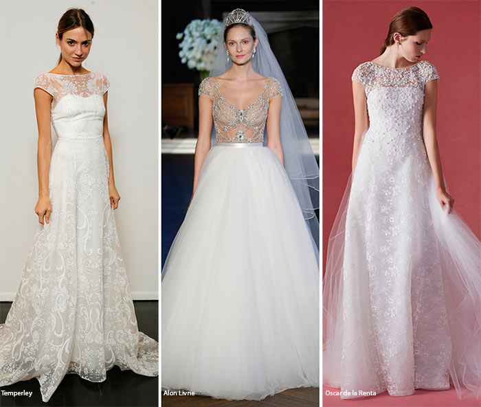 Fall 2016 Bridal Trends: Wedding Dresses with Cap Sleeves