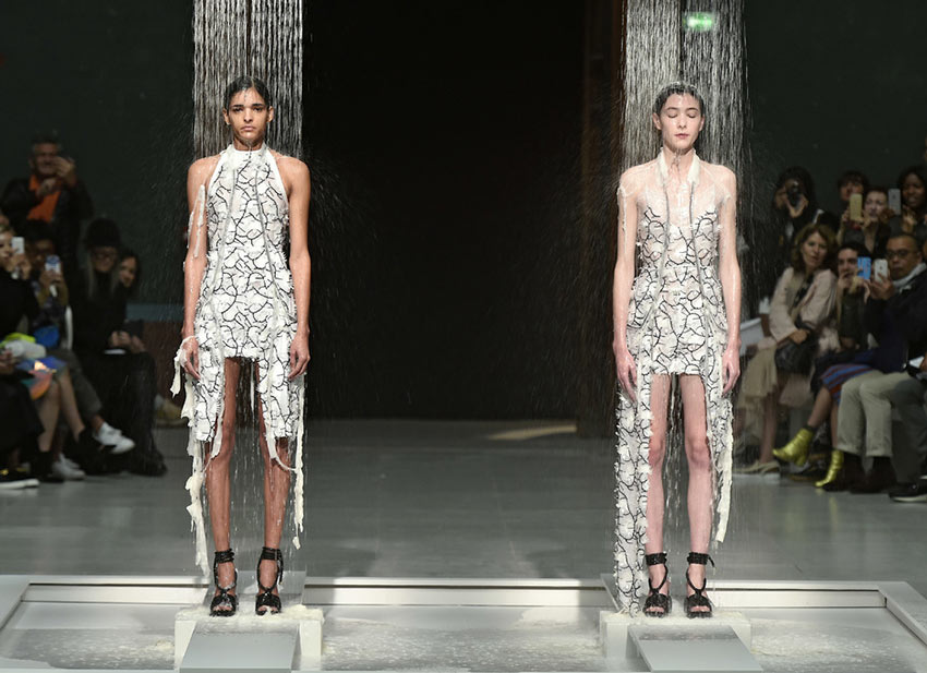 Chalayan's Melting Shower