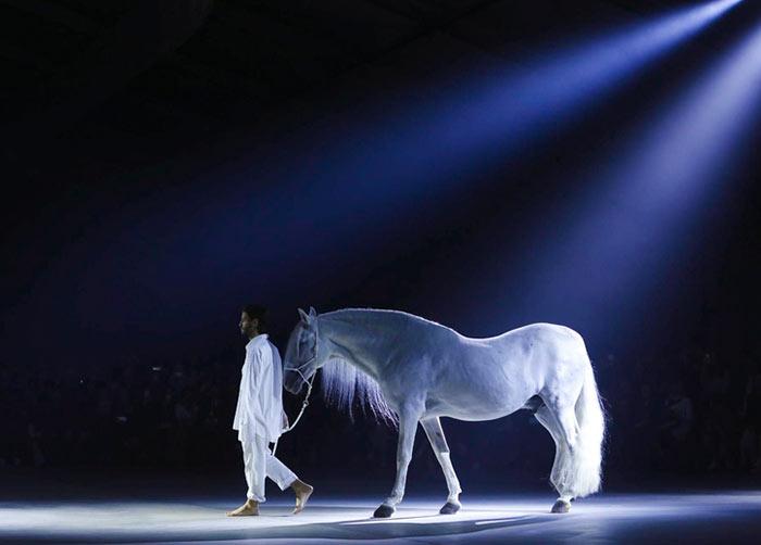 Jacquemus' White Horse