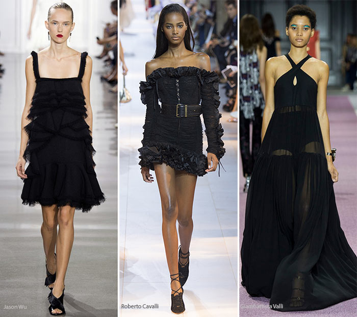 Spring/ Summer 2016 Color Trends: Black