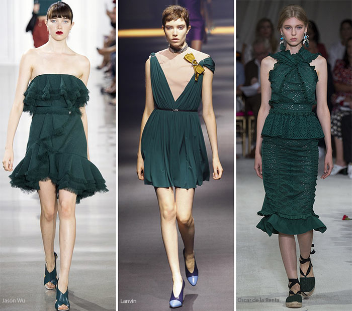 Spring/ Summer 2016 Color Trends: Dark Teal