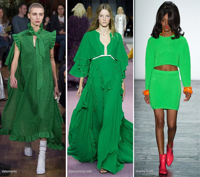 Spring/ Summer 2016 Color Trends: Green Flash