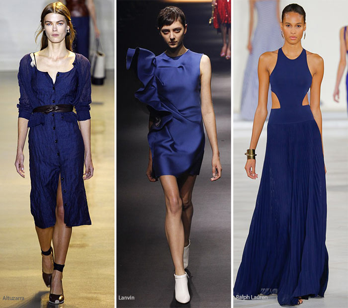 Spring/ Summer 2016 Color Trends: Indigo