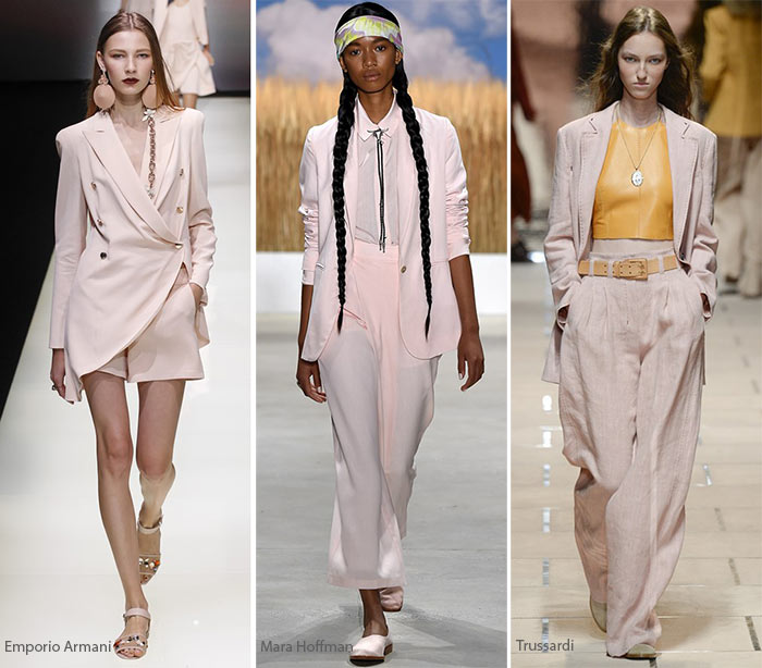 Spring/ Summer 2016 Color Trends: Pale Blush