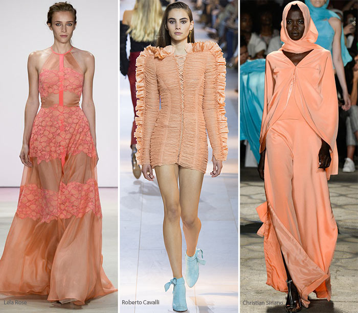 Spring/ Summer 2016 Color Trends: Peach Echo