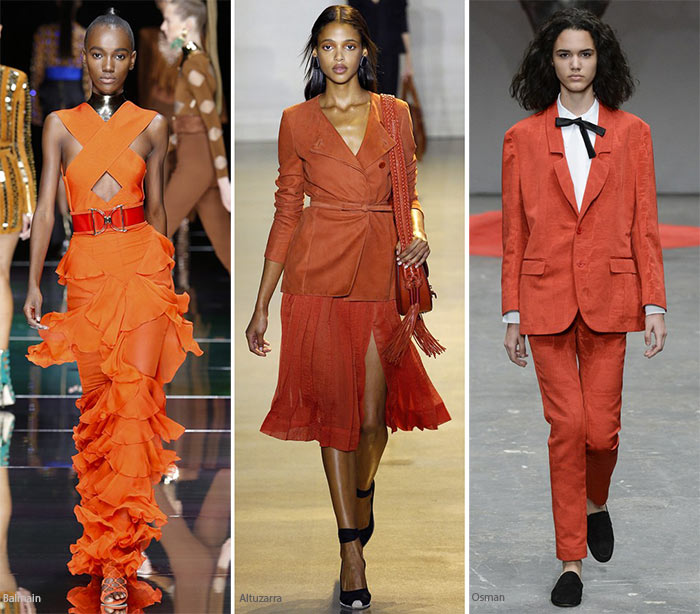 Spring/ Summer 2016 Color Trends: Persimmon