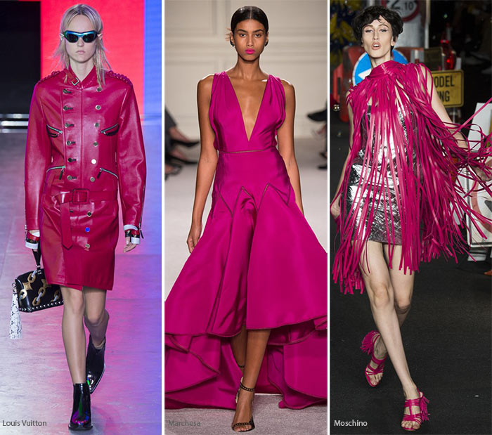 Spring/ Summer 2016 Color Trends: Raspberry Punch