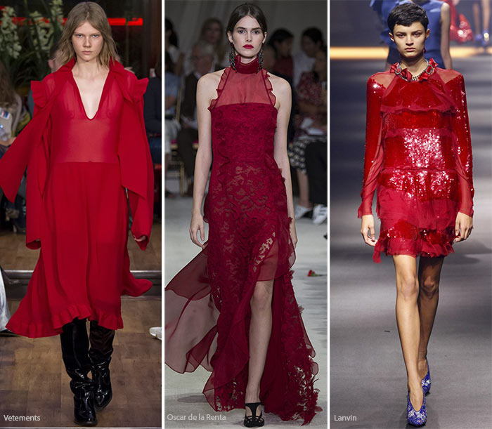 Spring/ Summer 2016 Color Trends: Scarlet