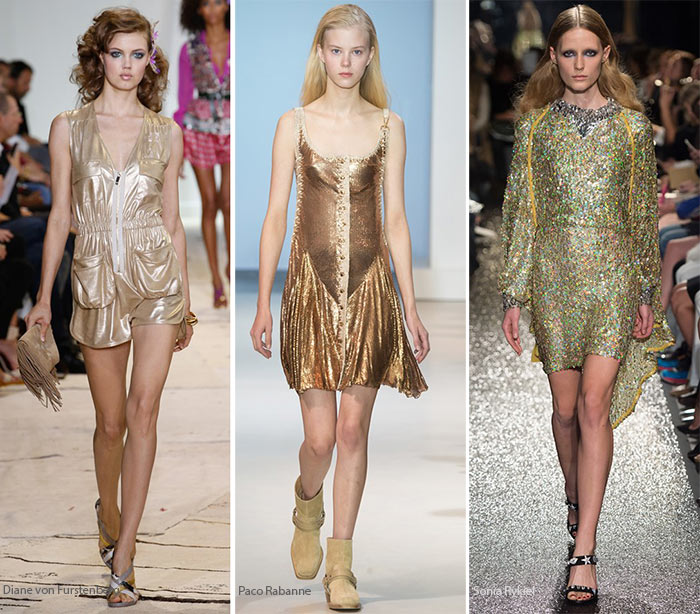 Spring/ Summer 2016 Color Trends: Gold