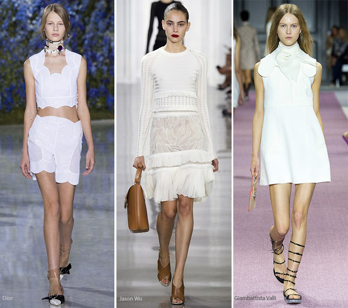 Spring/ Summer 2016 Color Trends: White