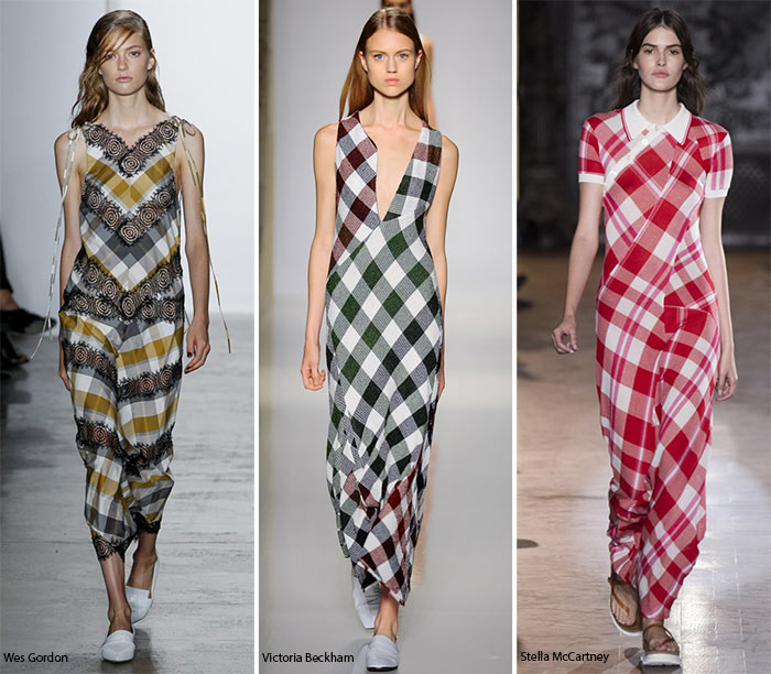 15bd659b9e8c Spring/ Summer 2016 Print Trends: Gingham Patterns