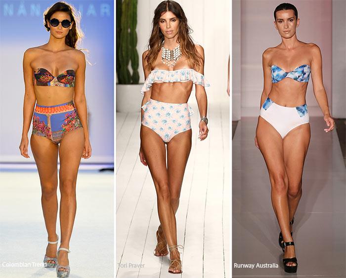 Spring/ Summer 2016 Swimwear Trends: High-Waist Bikini Bottoms