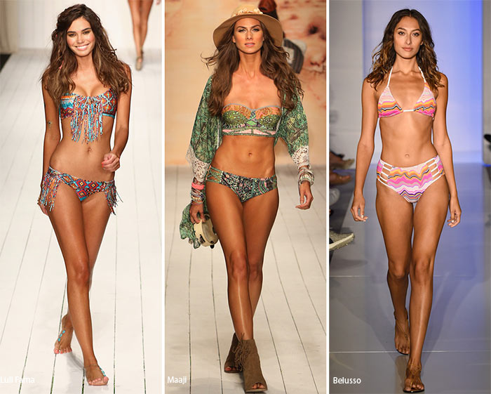 Spring/ Summer 2016 Swimwear Trends: Printed Swimsuits