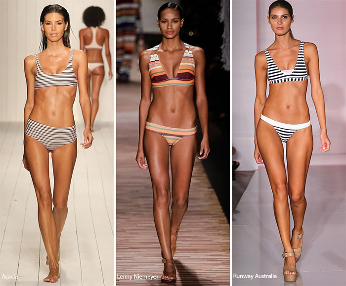 Spring/ Summer 2016 Swimwear Trends: Striped Swimsuits