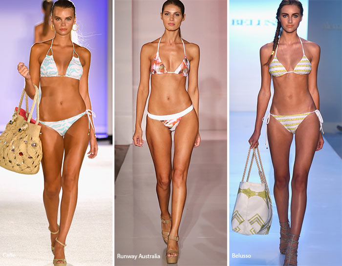 7036a2e8ef555 Spring  Summer 2016 Swimwear Trends  Triangle Bikini Tops