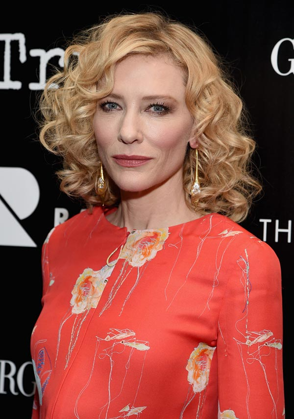 2015 Holiday Party Hairstyles: Cate Blanchett