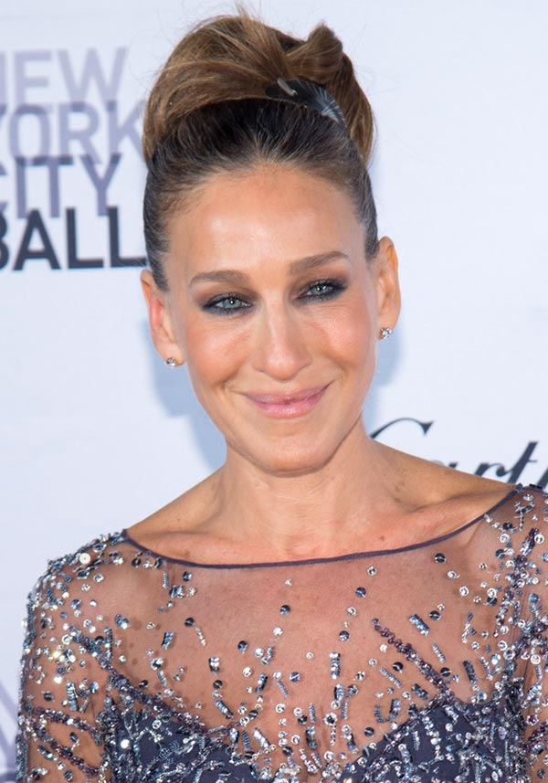 2015 Holiday Party Hairstyles: Sarah Jessica Parker