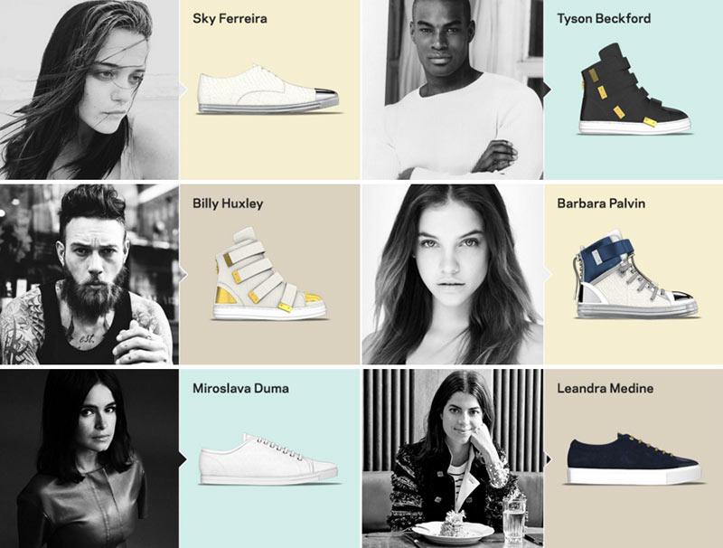 Farfetch MYSWEAR Custimizable Sneakers