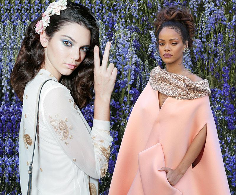 Kendall Jenner Victoria's Secret Angel, Rihanna