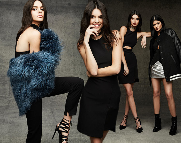 Kendall and Kylie Jenner's Holiday 2015 Topshop Collection