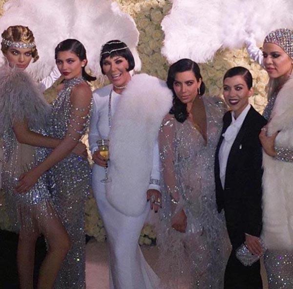 Kris Jenner's Great Gatsby Themed Birthday